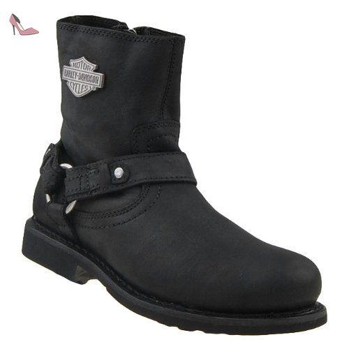 bottes scout noir harley