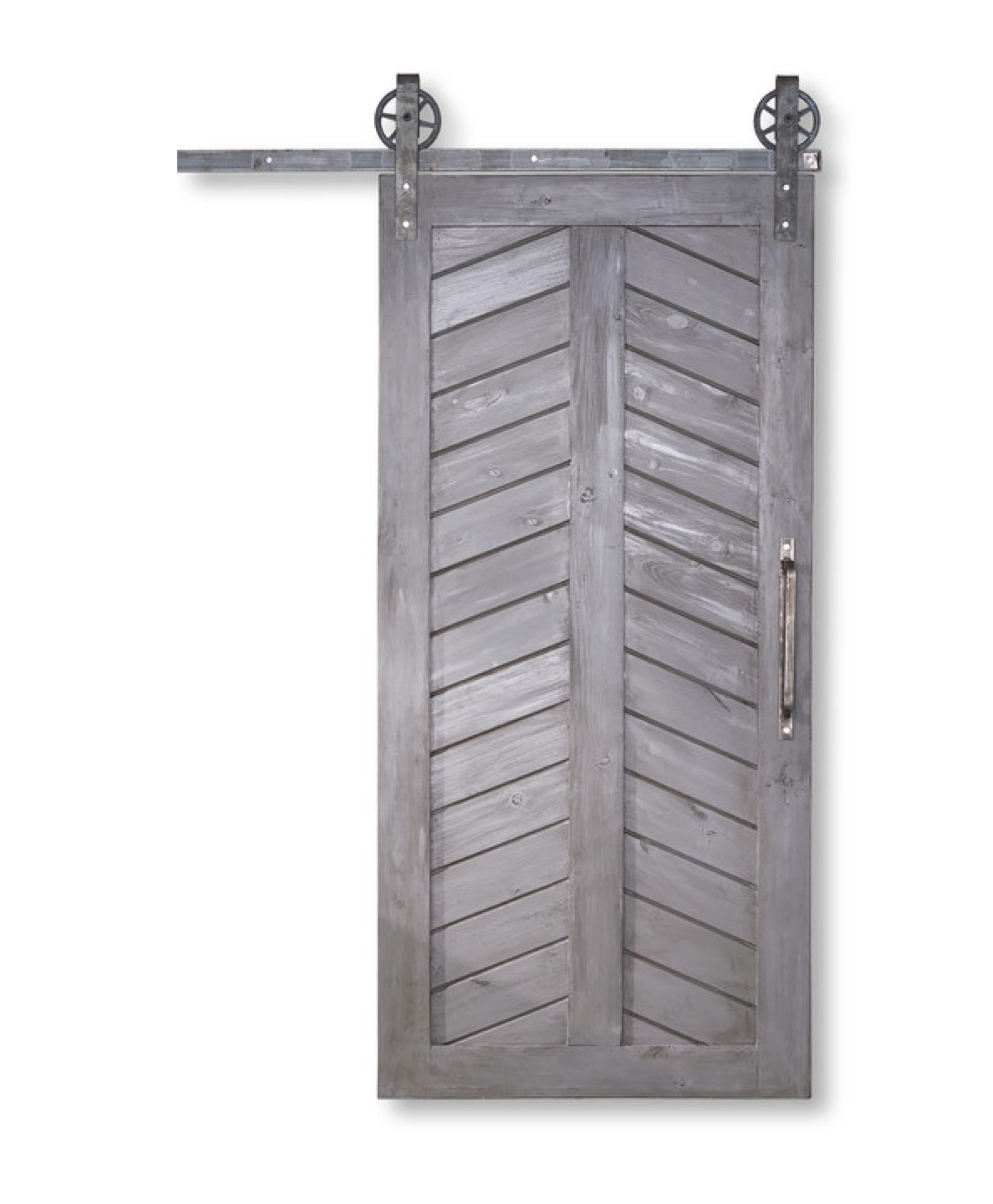 Chevron Barn Door Houzz Barn Doors Sliding Inside Barn Doors Interior Barn Doors