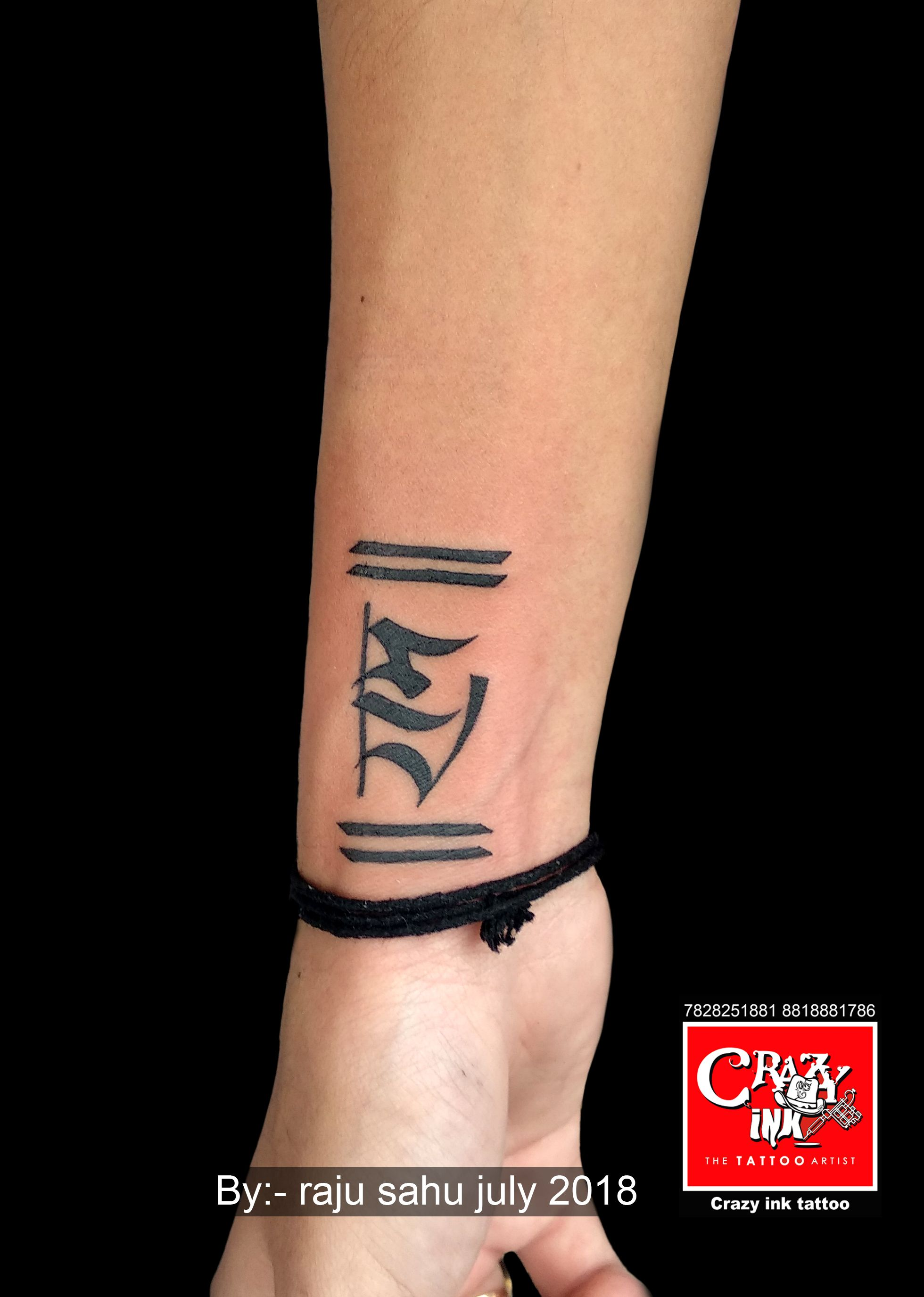 Crazy Ink Tattoo And Body In Raipur India Name Tattoos On Wrist Wrist Tattoos For Guys Tattoos