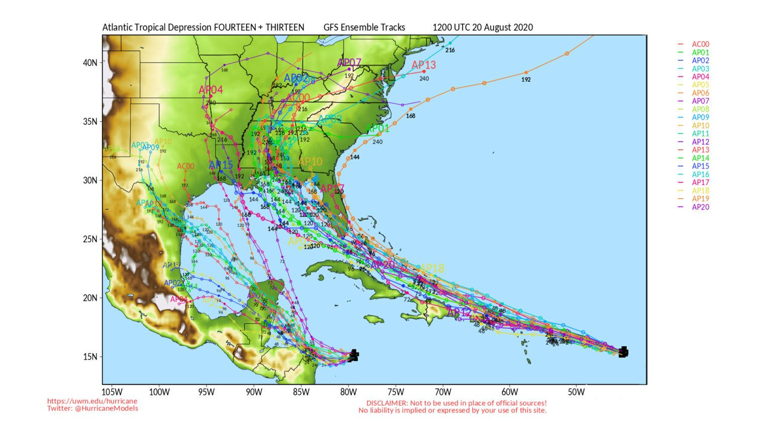 Caribbean Storms 13 And 14 Could Collide To Become Fujiwara Megastorm In 2020 National Hurricane Center Weather Radio Caribbean