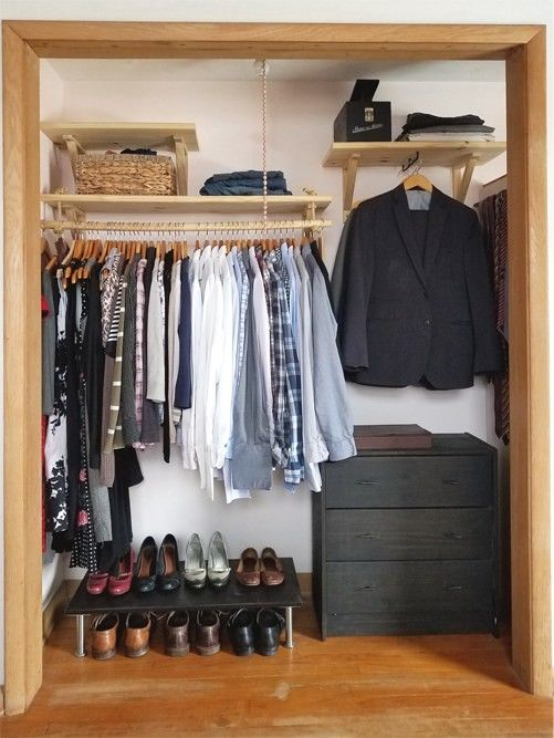 Pin by M Shor on Housuave Closet transformation, Closet