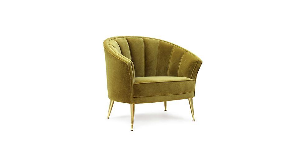 MAYA Armchair Mid Century Modern Furniture by BRABBU is perfect to
