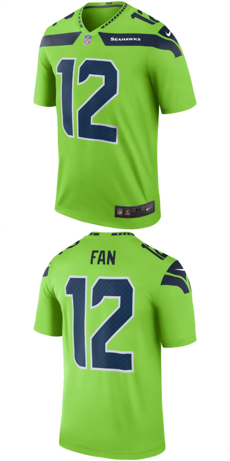 e2198932 UP TO 70% OFF. 12 Fan Seattle Seahawks Nike Color Rush Legend Jersey ...