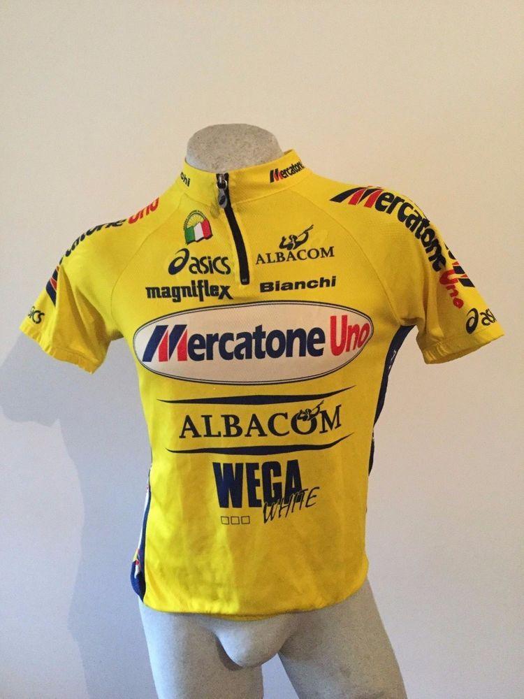 Maglia ciclismo PANTANI MERCATONE UNO ASICS BIANCHI shirt