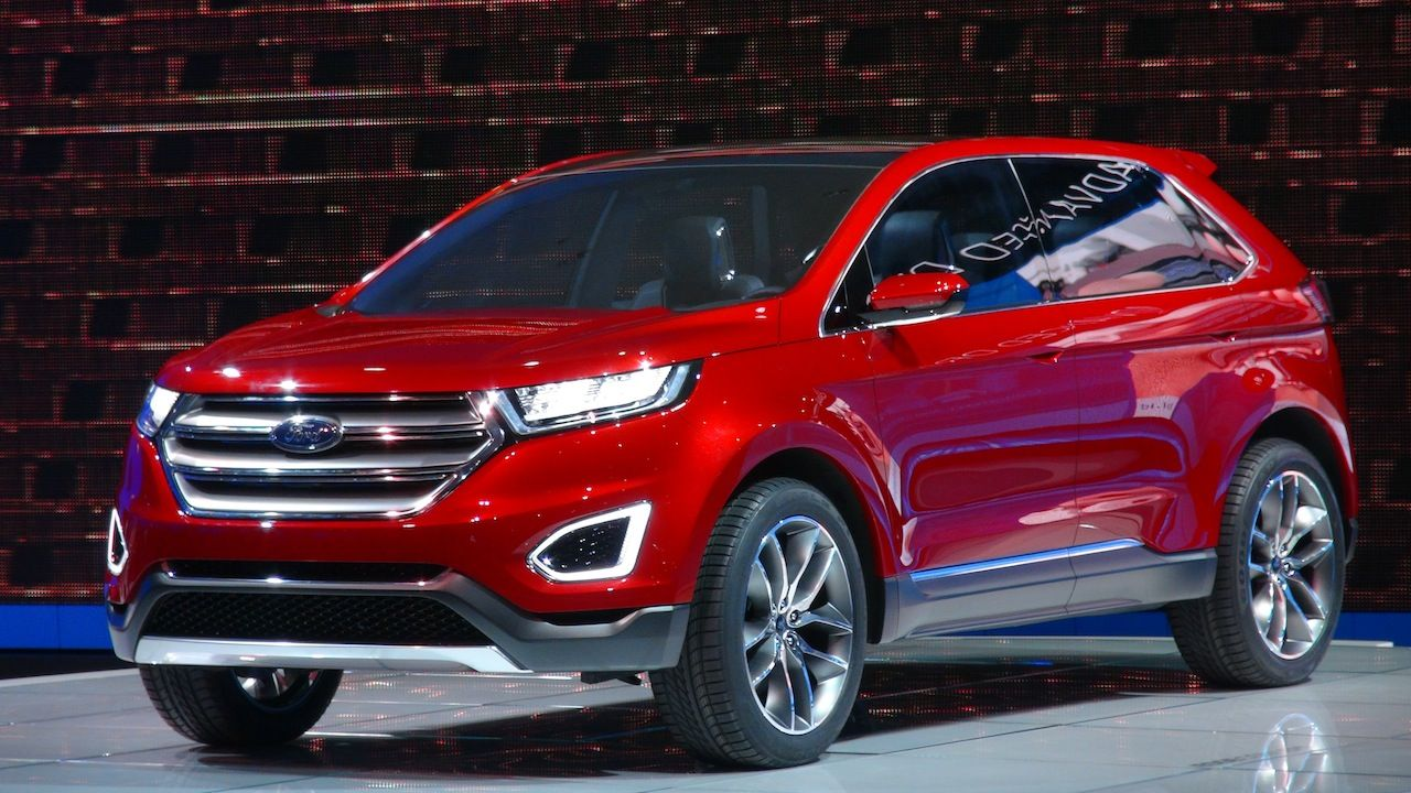 Though it was once recently unveiled, it's going to most likely be launched as fashion for 2015. Still in construction mode, the 2015 Ford Edge isn't expected in advance of the top of this year, and it's imaginable that most appropriate will probably be not on time till Detroit motor display.