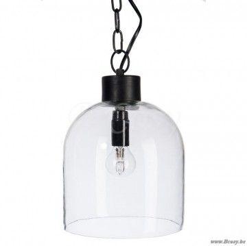J-Line Keuken hanglamp glazen lampenkap ø19 <span style=\