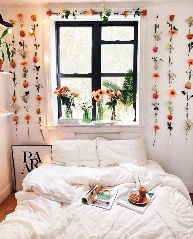 Nyc Apartment Urban Bedroom Wall Decor Bedroom Room Inspiration