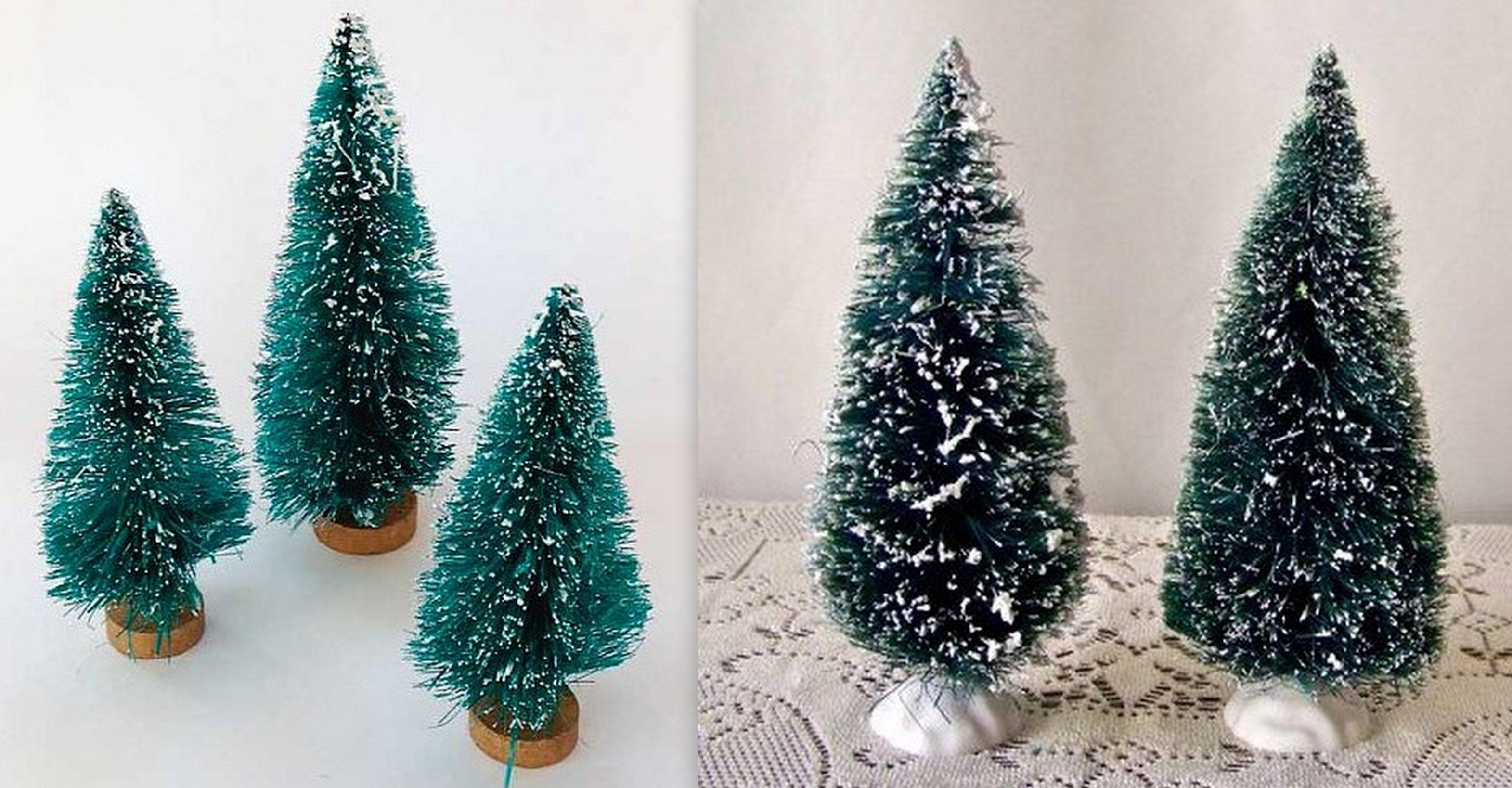 Astuce pour faire de petits sapins de Noël