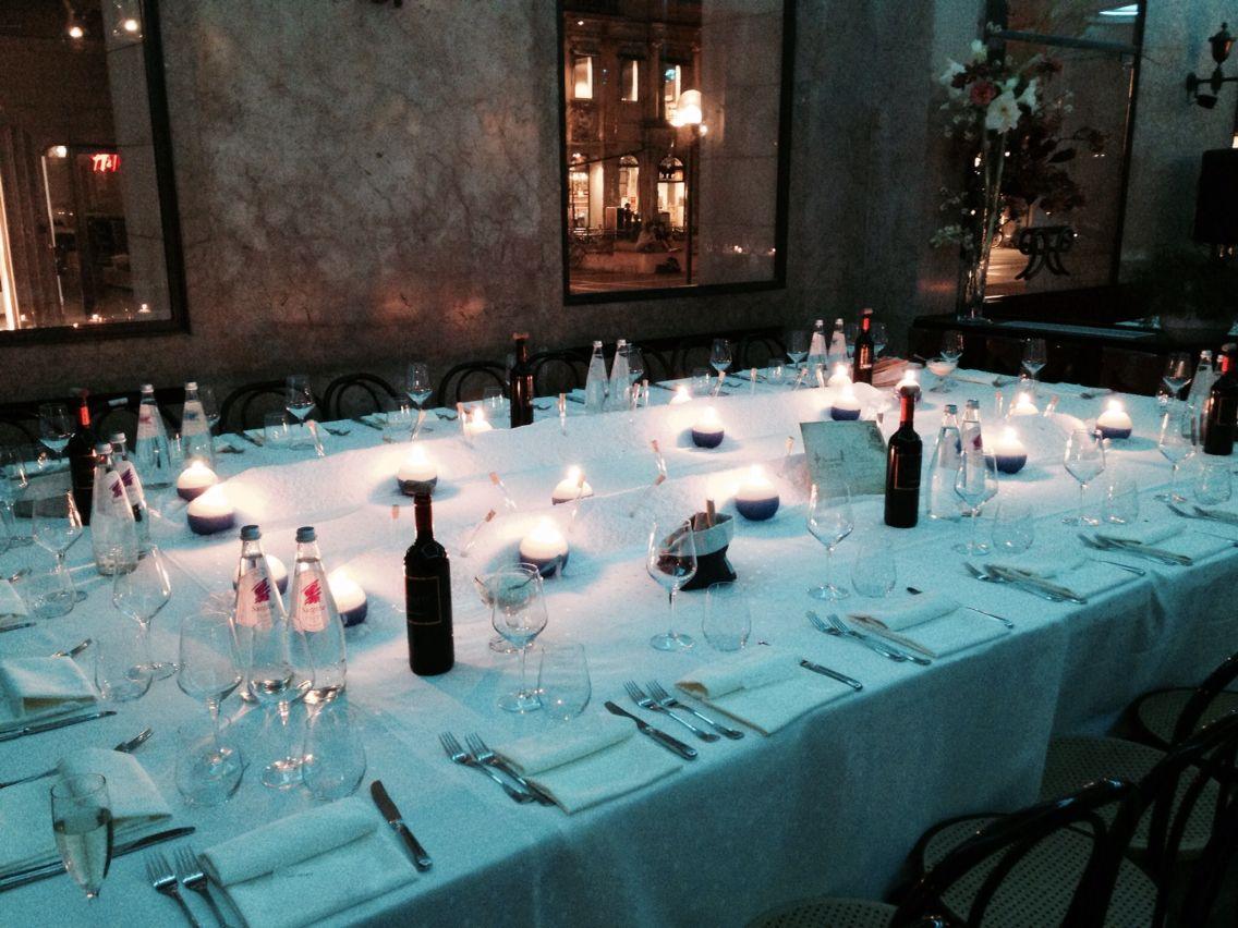 Wedding dinner table decoration sea table decoration  mise en place  pinterest  table decorations