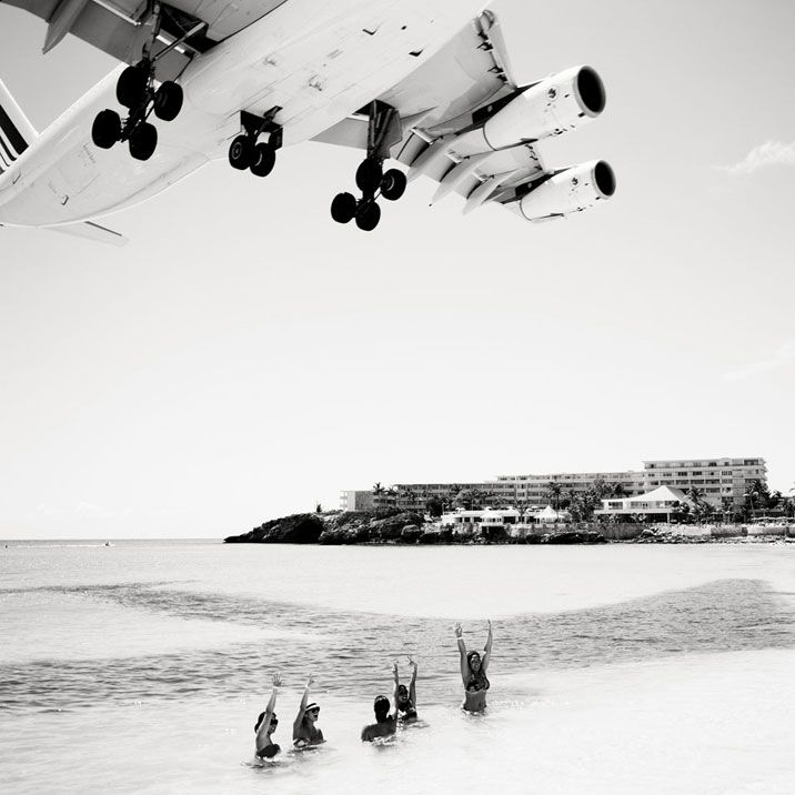 Jet airliner josef hoflehnertakes a landscape and turns it into art black white photography