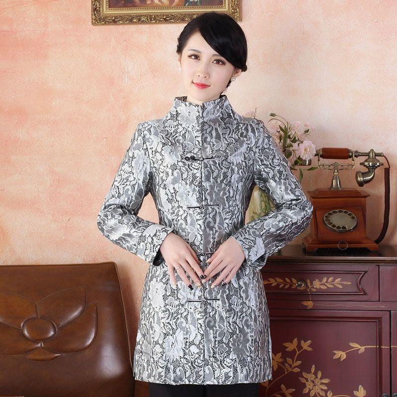076483eee Beautiful Frog Button Chinese Tang Coat - Purple - Chinese Jackets & Coats  - Women