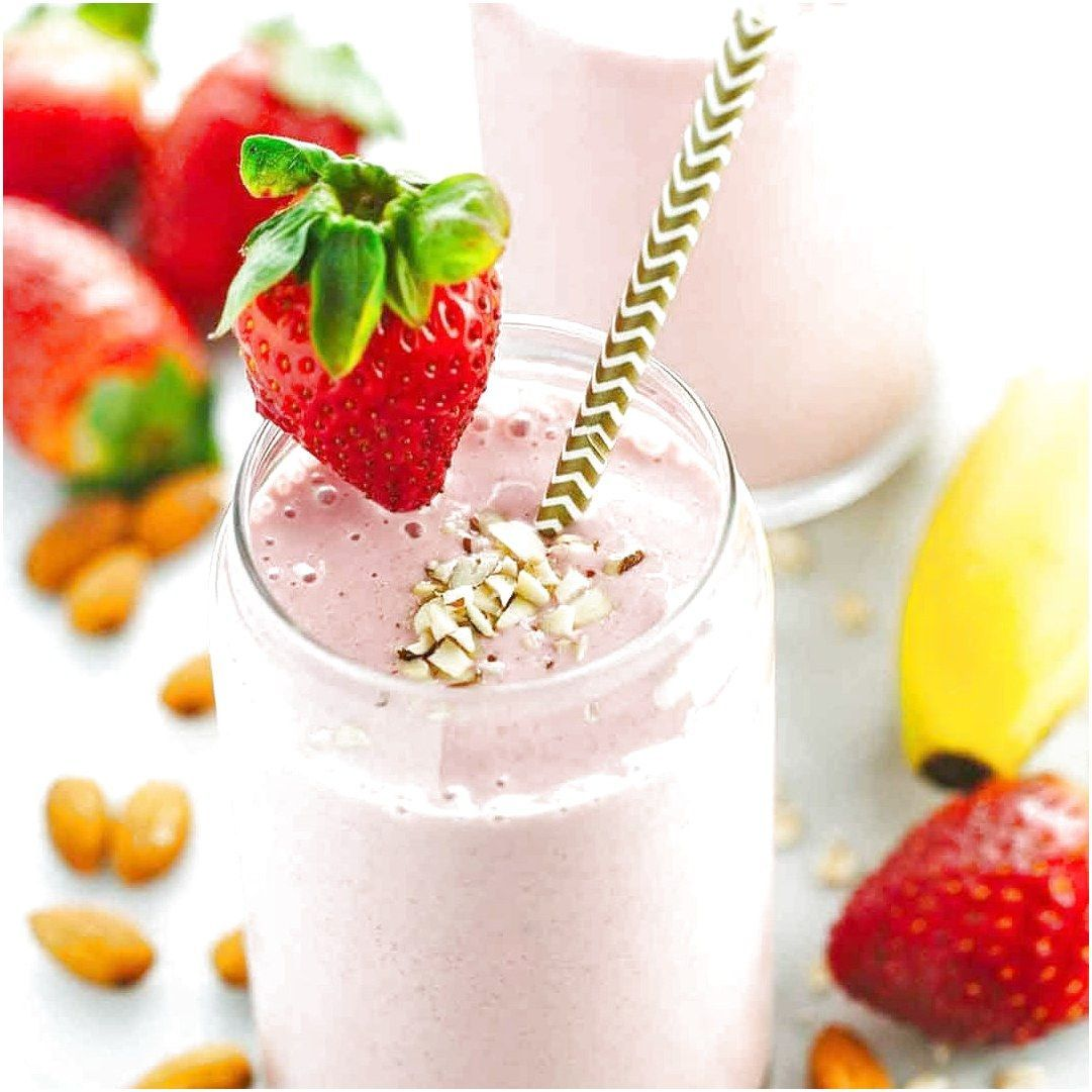 Dont skip breakfast! This healthy and satisfying strawberry banana smoothie recipe will keep you energized with fruit oats yogurt and almonds  #FruitySmoothieRecipes Click the image for more info.. #healthystrawberrybananasmoothie Dont skip breakfast! This healthy and satisfying strawberry banana smoothie recipe will keep you energized with fruit oats yogurt and almonds  #FruitySmoothieRecipes Click the image for more info.. #strawberrybananasmoothie