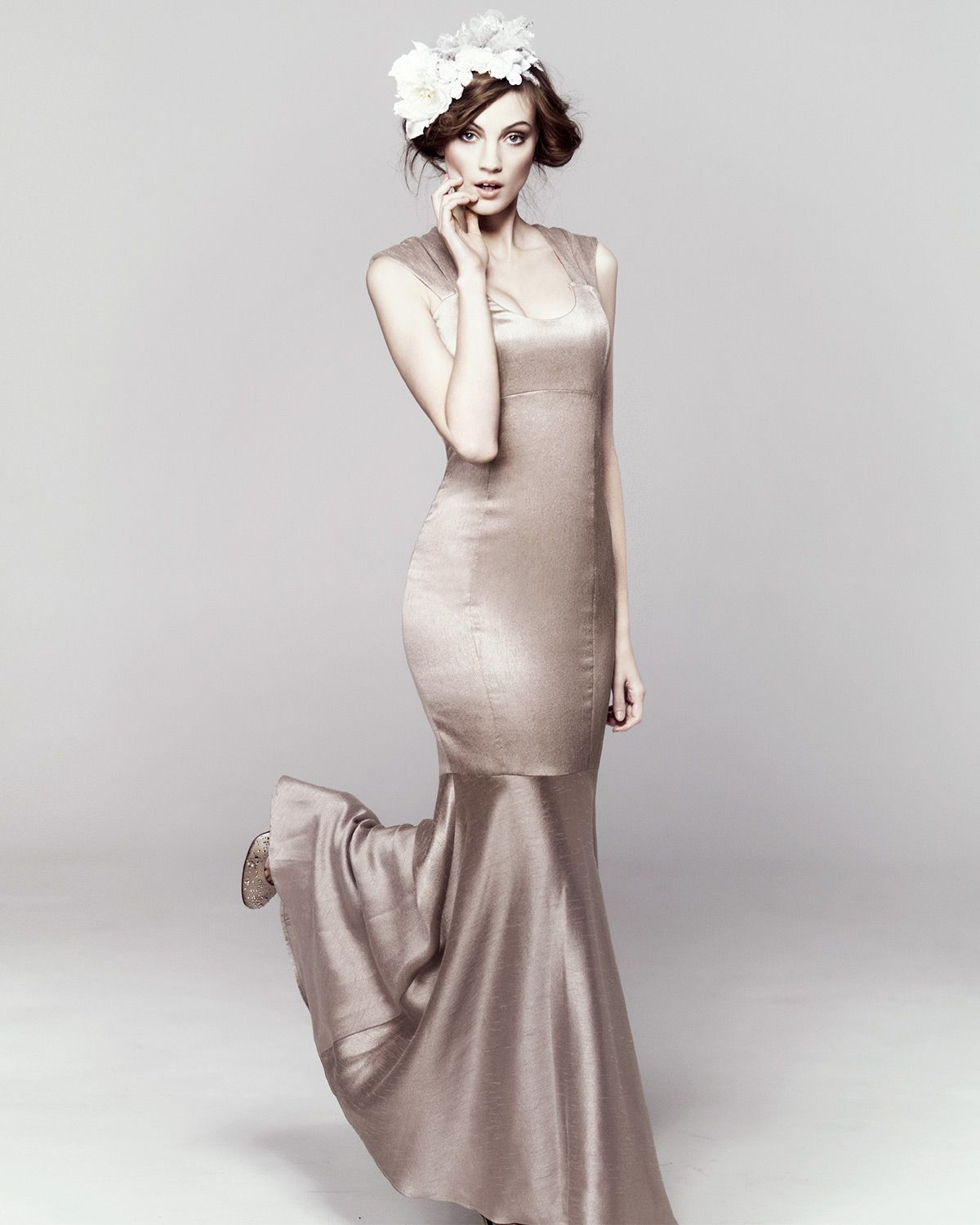 Tia Fishtail Full Length Dress by Phase Eight | Body coverings ...