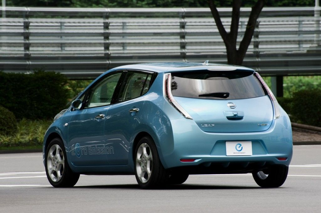 The Nissan Leaf Is A Five Door Hatchback Electric Car Manufactured By Nissan And Introduced In Japan And The United States In D Nissan Leaf Nissan Concept Cars