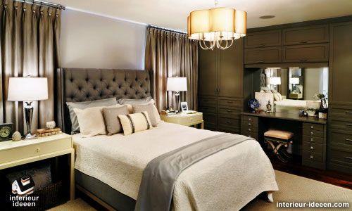 slaapkamer-voorbeeld-grijs-5.jp | Bedroom | Pinterest | Bedrooms and ...