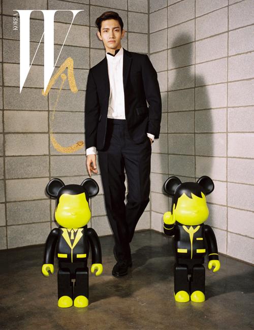 TVXQ's Changmin // W Korea // April 2013