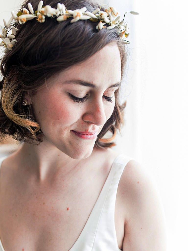Short Wedding Hairstyles Fair 31 Stunning Wedding Hairstyles For Short Hair  Bohemian Wedding