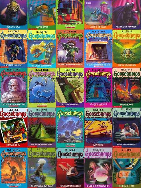Goosebumps 90s Books For 90 S Kids My Childhood Pinterest