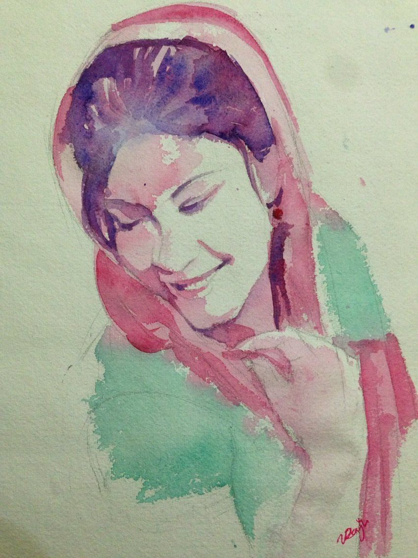Portrait by - Raju kale