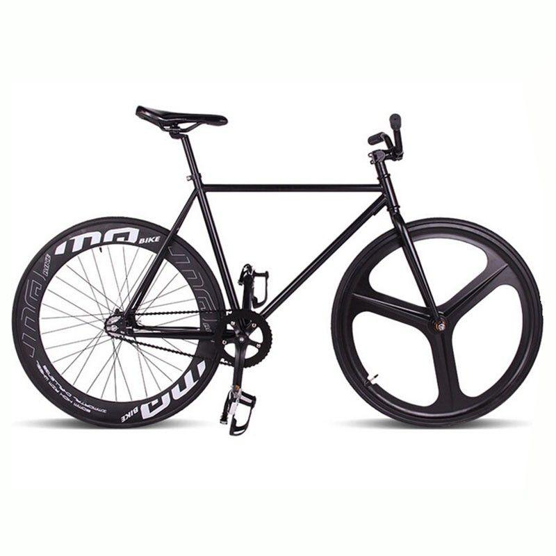 Fixie Bike Bicycle DIY 700C 46/52CM Retro Steel Frame Bicicleta ...