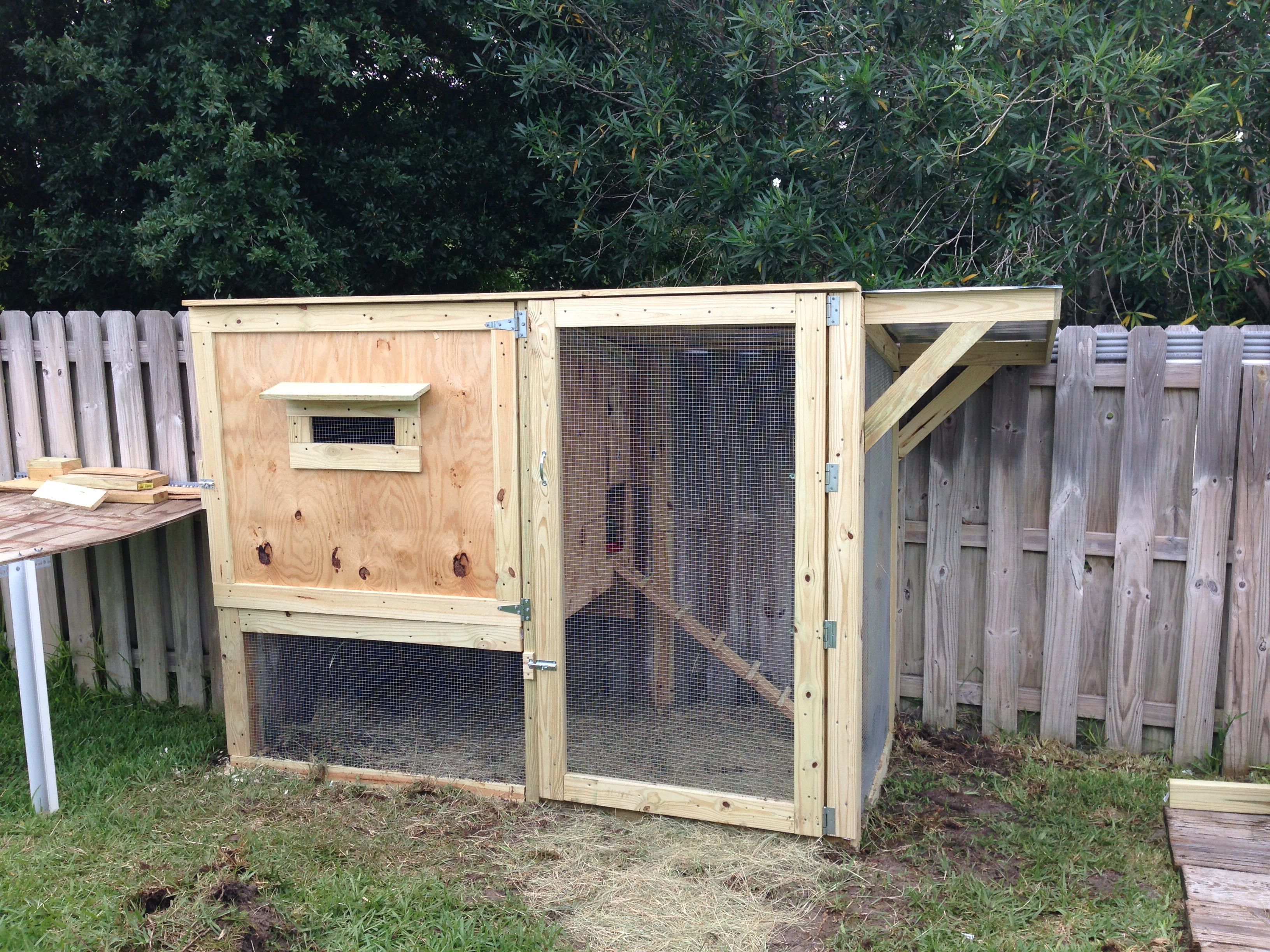 diy backyard chicken coop cost 325 including feeders will keep