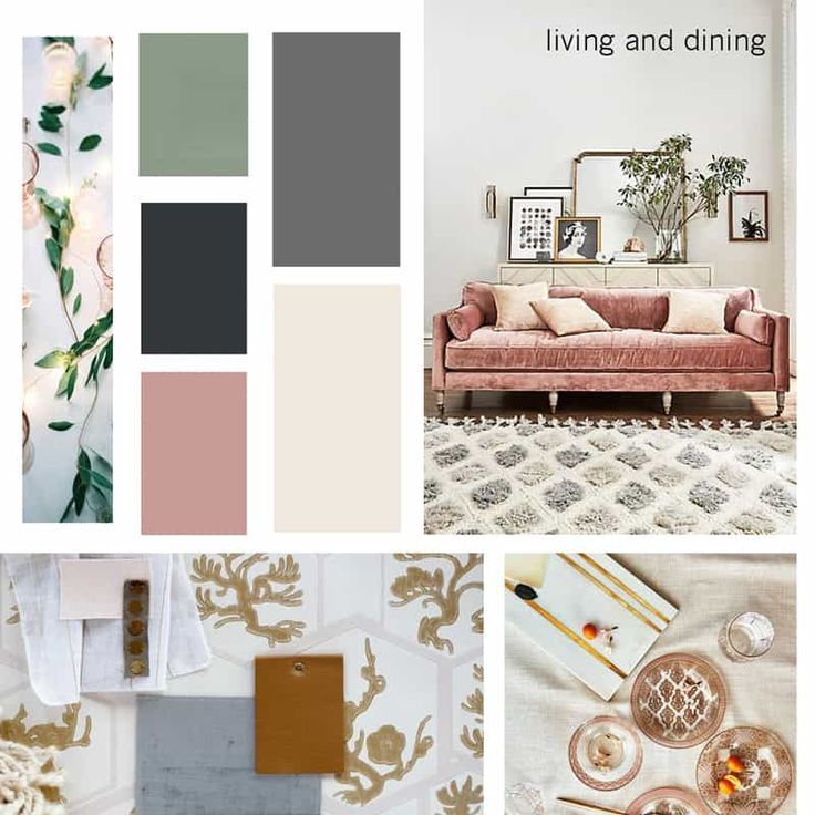 How To Create A Mood Board for Interior Design Projects