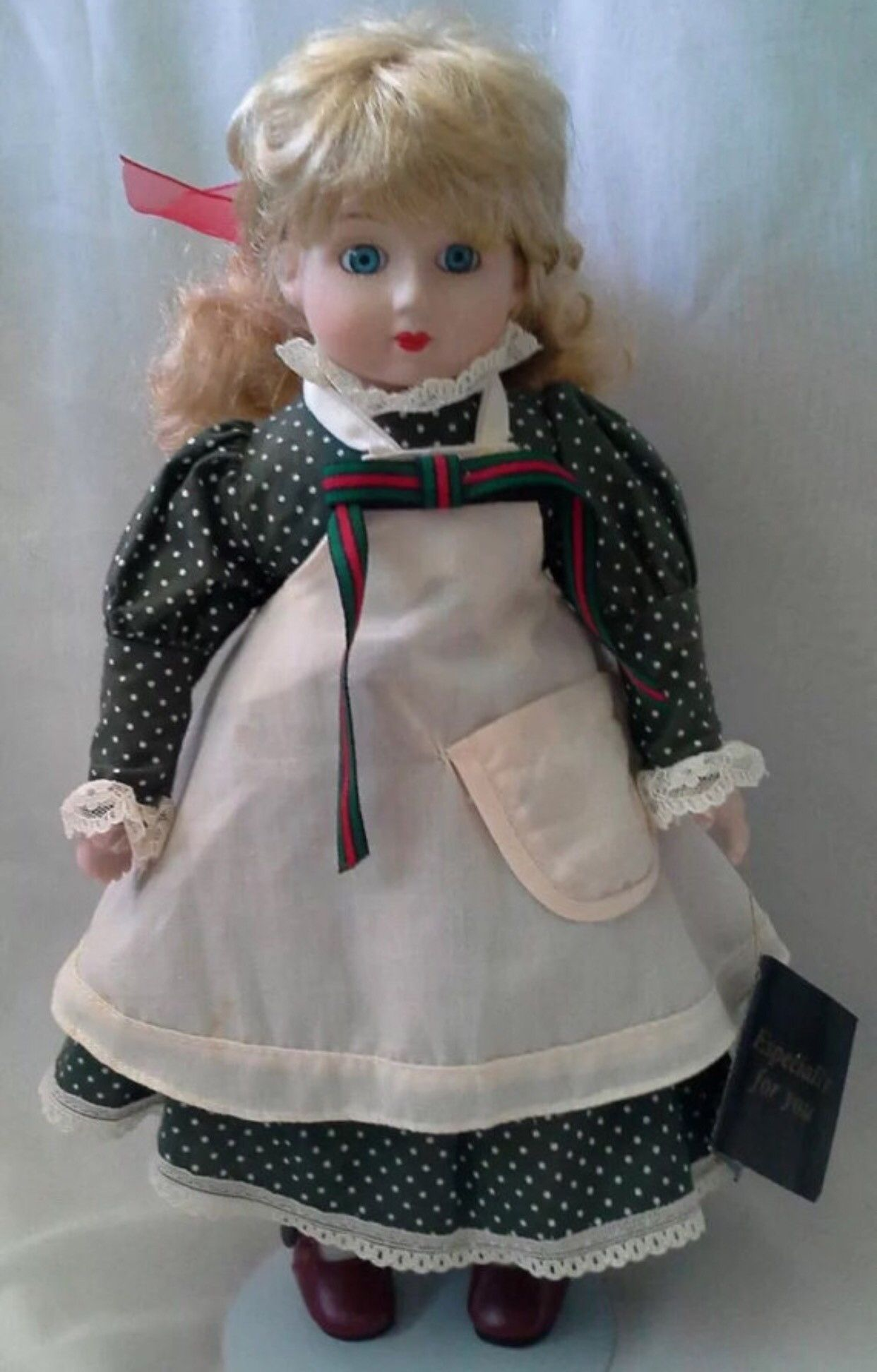 "Vintage Collectible Gorgeous Ceramic Doll by House of Lloyd 14"" Tall"