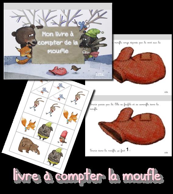 style top super mignon complet dans les spécifications La maternelle de Laurène : livre à compter La Moufle, jusqu ...