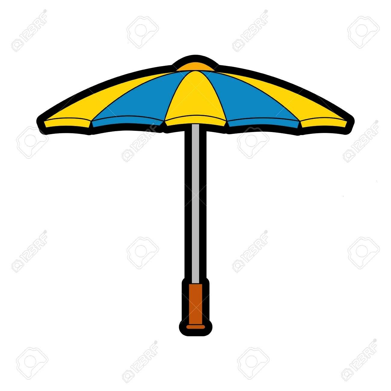 parasol icon over white background vector illustration Illustration A parasol icon over white background vector illustration Illustration  Infographic The Colors From You...