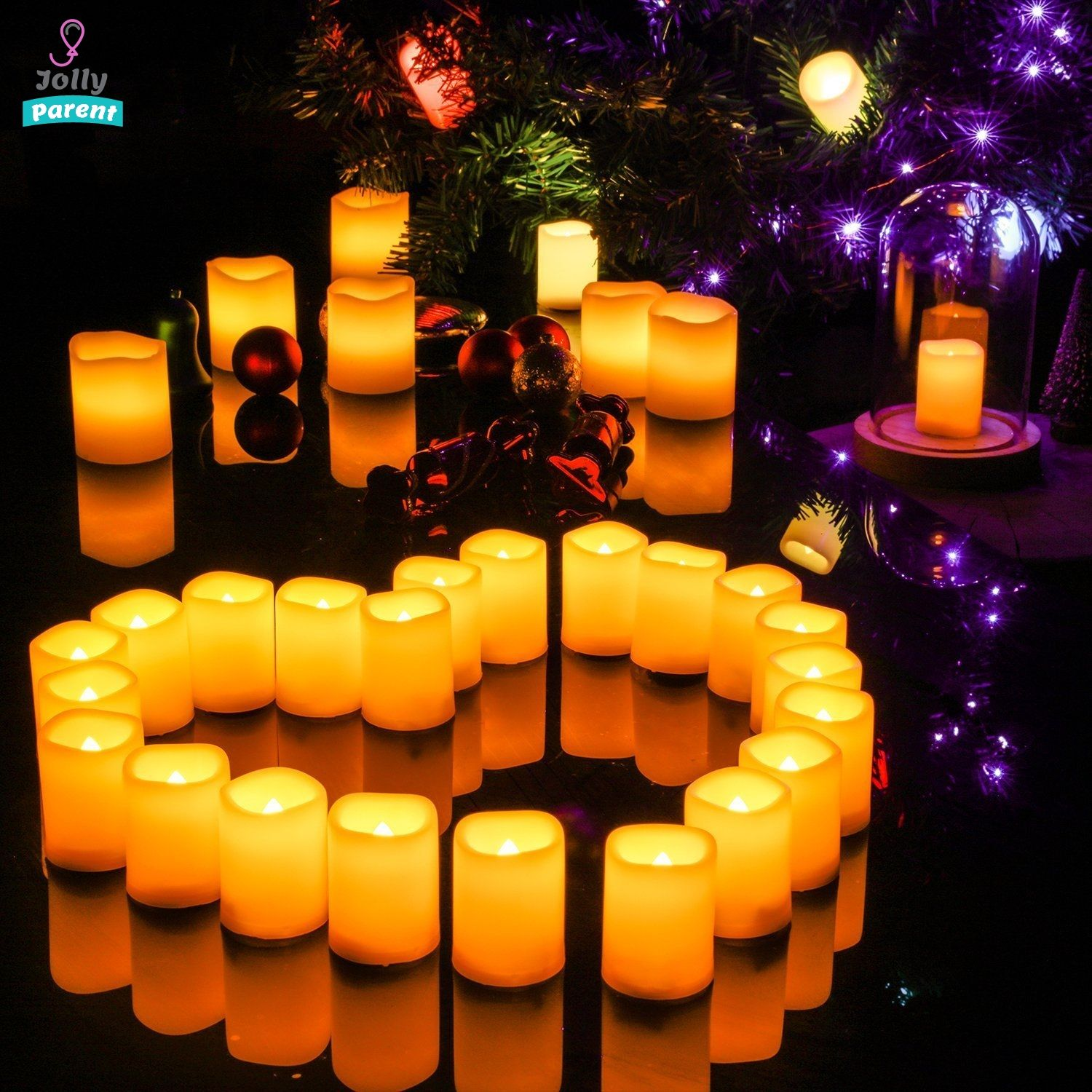 12pcs Led Electric Candle Lights Remote Control Timer Remote Candles Led Candle Lights Led Pillar Candle