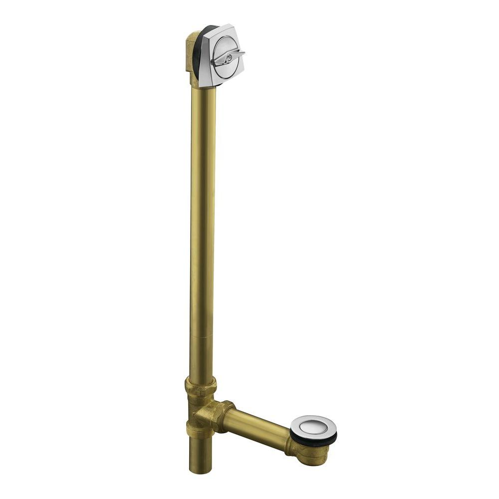 Clearflo 1-1/2 in. Adjustable Brass Pop-up Drain in Polished Chrome