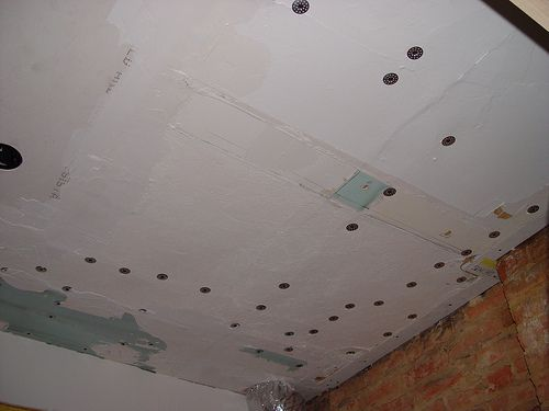 Repair Sagging Plaster Ceiling