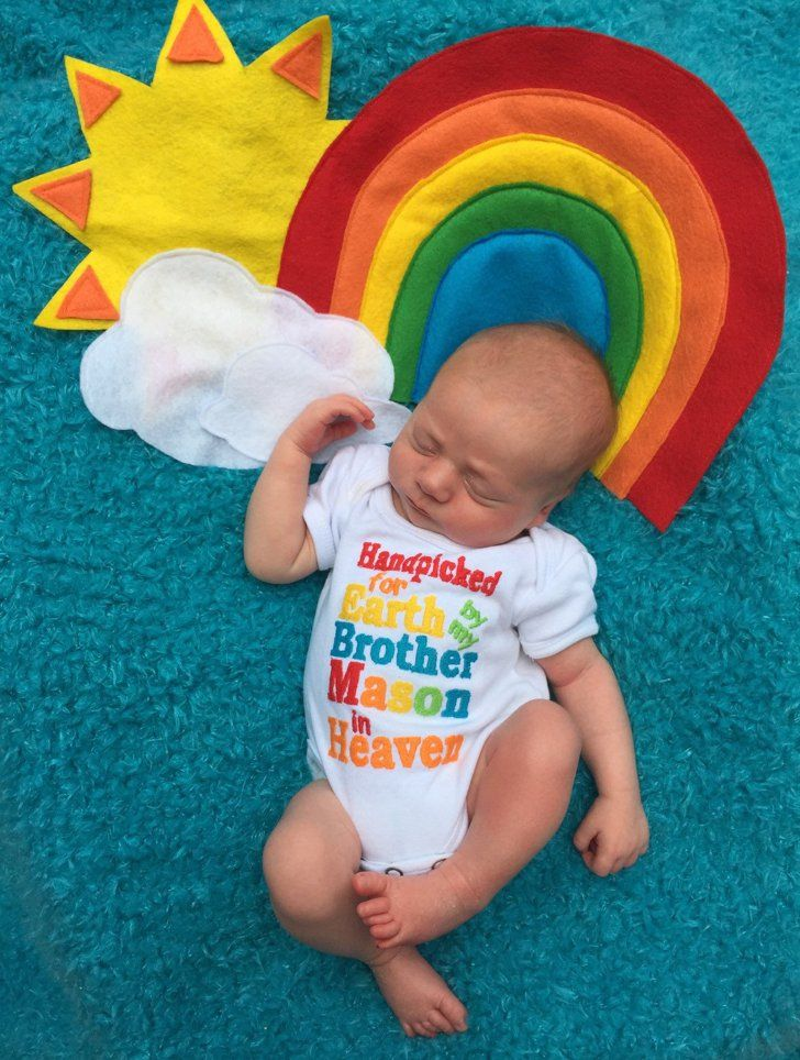 Pin for later these are the sweetest rainbow baby photo ideas youve ever
