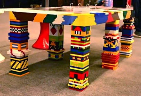 LEGO Upcycling Ideas: What To Do With Those Extra LEGO Bricks   Create Life  Size Furniture! Awesome Ideas