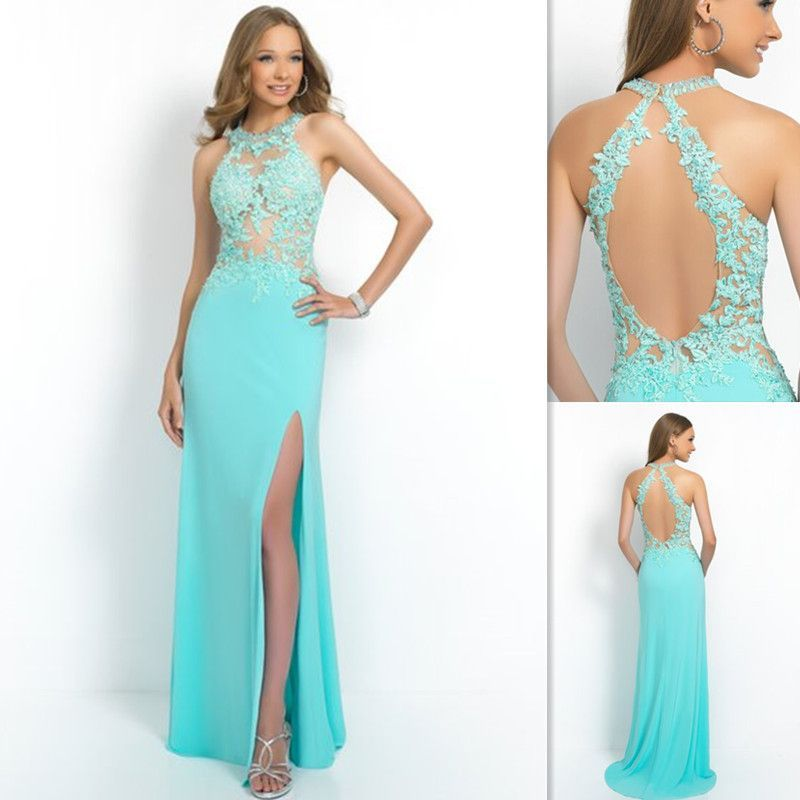 Aqua blue prom dresses uk cheap