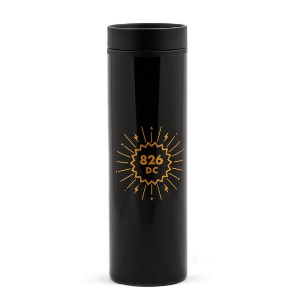 826DC Logo Travel Mug: For the magician on the go, nothing will do but the latest in warm liquid technology.