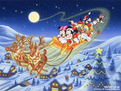 Disney Wiki S Christmas Background Mickey Mouse Christmas Disney Christmas Disney Merry Christmas