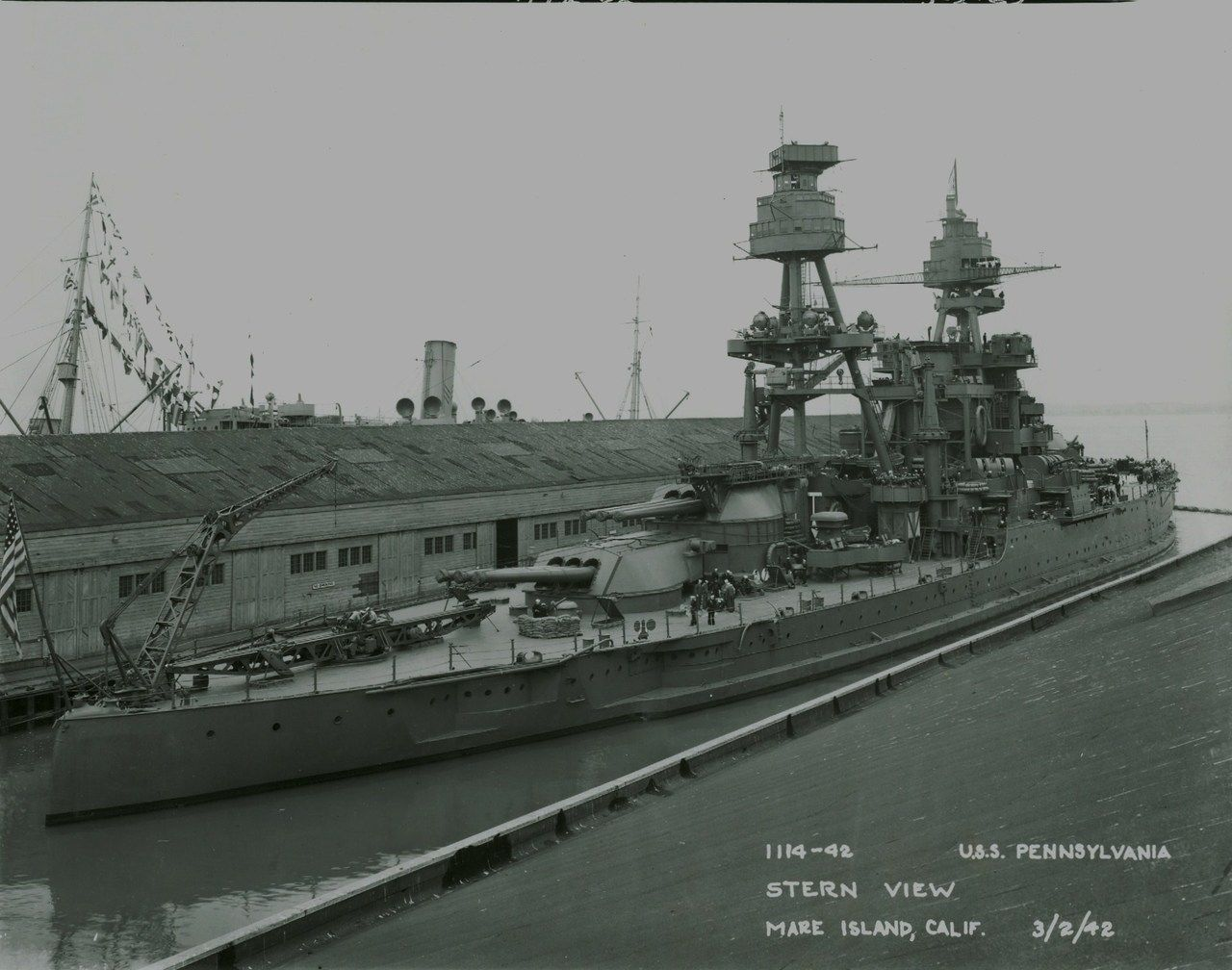 USS Pennsylvania after modernization.