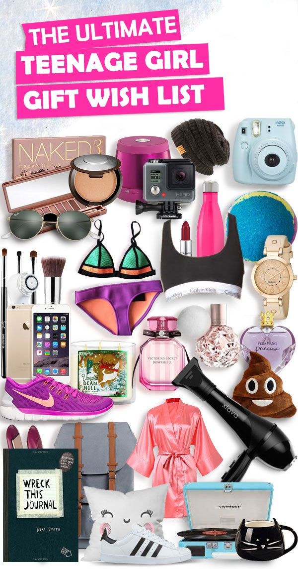 Christmas gifts for teenage girls! Parents save this list! This ultimate  list contains over 300+ Birthday and Christmas gifts for teenage girls. - Christmas Gifts For Teenage Girls List [Ultimate Wish List Gifts