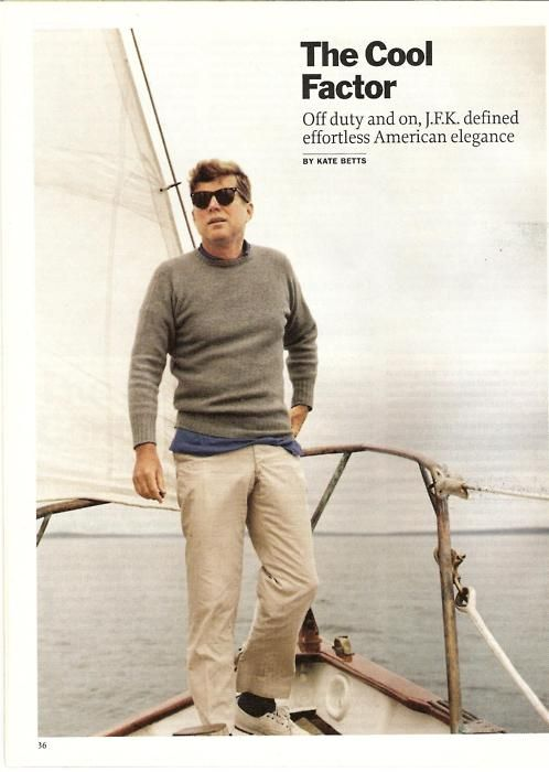 JFK & the cool factor