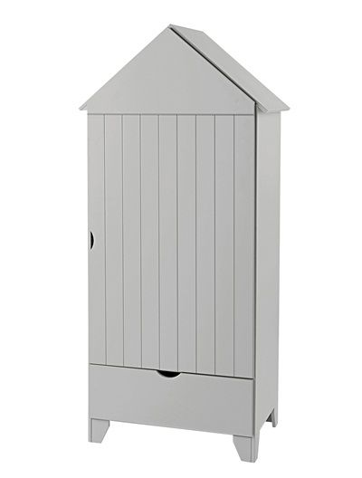 armoire 1 porte holidays blanc plage chambre armoire. Black Bedroom Furniture Sets. Home Design Ideas