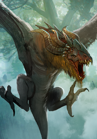The Witcher 3 Gwent Card Art Fantasy Creatures Art Fantasy Beasts Mythical Creatures Art