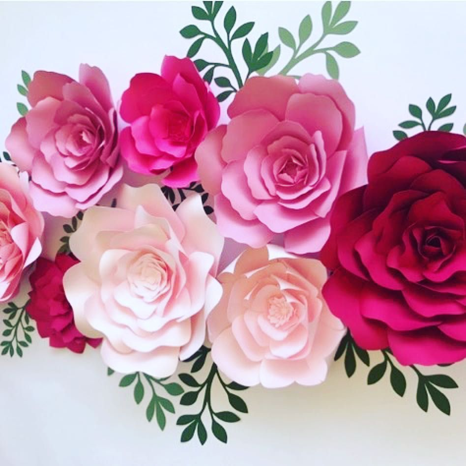 More flowers from the new paper flower kits everything youll need more flowers from the new paper flower kits everything youll need except the glue to create beautiful flowers i your own home paperflowers diyproject mightylinksfo