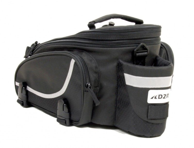 D2R Trunk Bag - Large capacity for serious commutes or epic tours.