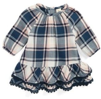 49f16242f5ec Infant Girl s Tucker + Tate Plaid Flannel Dress  adorable ...