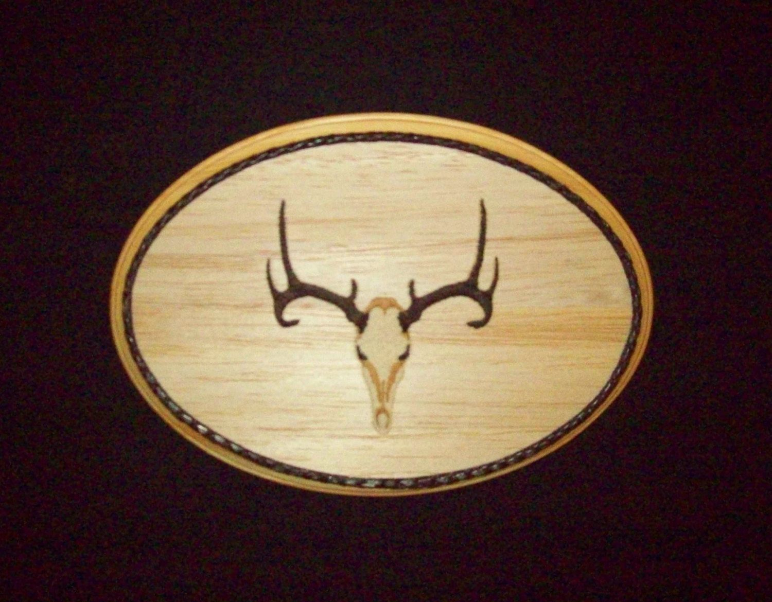 Old Fashioned Deer Skull Wall Decor Composition - The Wall Art ...