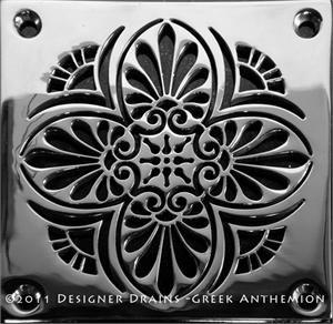 Not Your Same Old Shower Drain Master Bath Ideas Shower Drain Drain Cover Stencil Designs