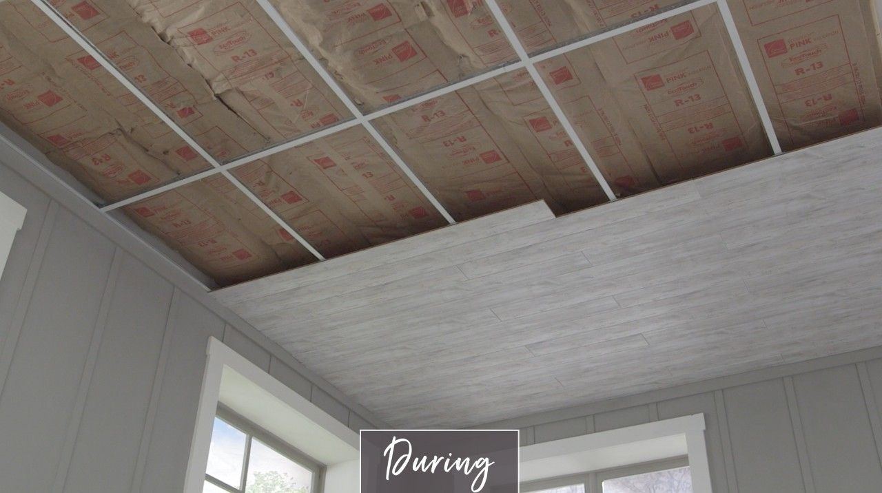 Cover A Drop Ceiling Dropped
