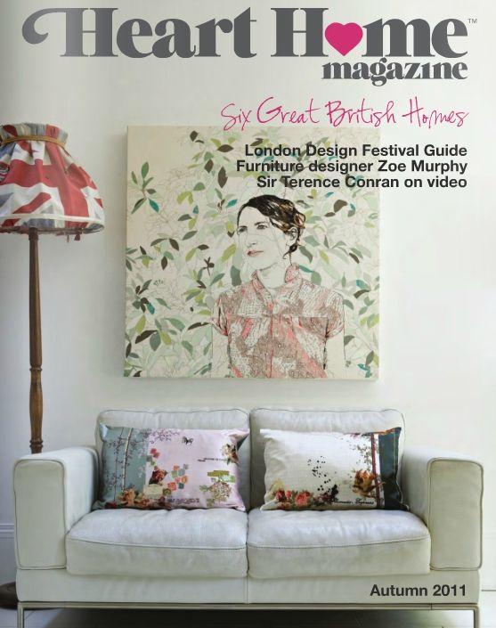 Heart Home magazine Issue 1 Pinterest Revistas