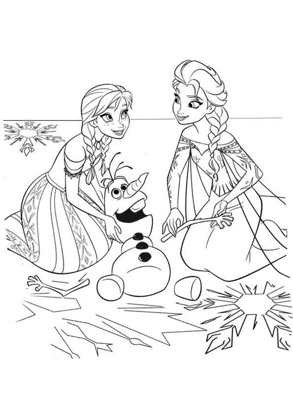 Gratis Ausmalbilder Eiskönigin Ausmalbilder Für Kinder